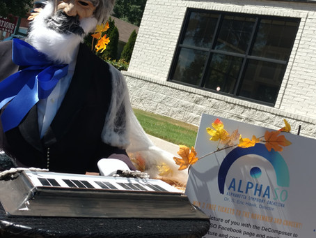 "AlphaSO's ""De Composer"" Returns to Main Street in Alpharetta"