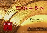 Flyer Gig Ear Sin - Bottega Rapperswil.j