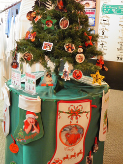 CHRISTMAS ORNAMENTS AND STOCKINGS
