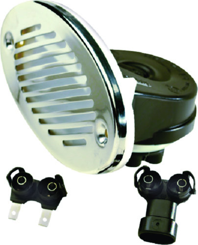 Sea Choice 12V Hidden Horn w/ SS Grill