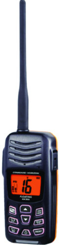 Compact Floating Handheld 5W VHF Radio