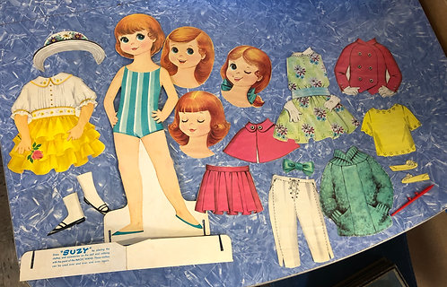 Sweet Sue Paper Doll Set (1954)