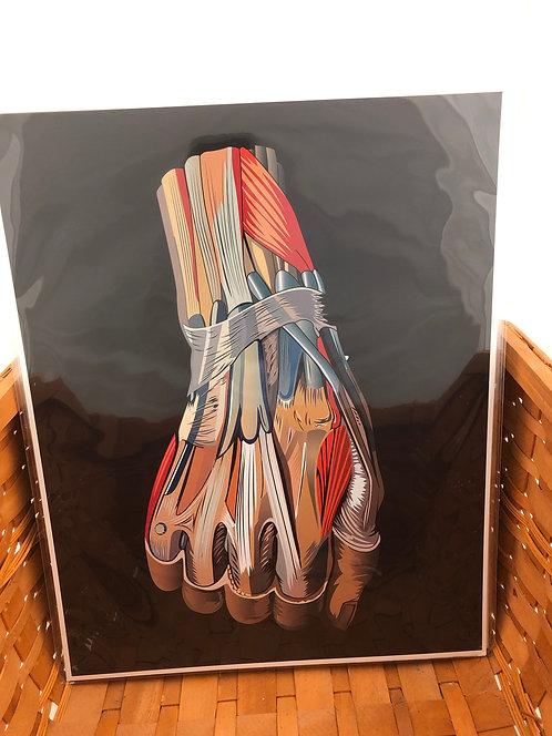 Medical Hand Print