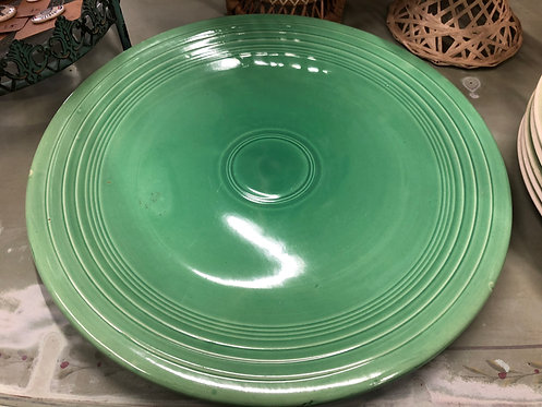 Antique Fiestaware Chop Plate