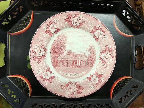 Monticello Souvenir Plate