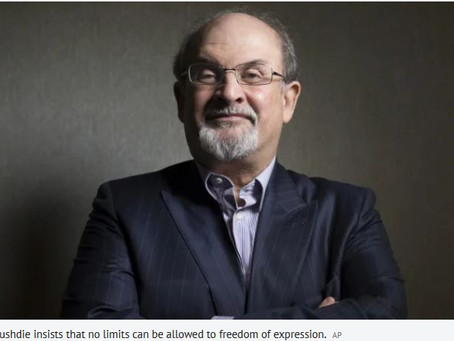 Salman Rushdie on Cancel Culture