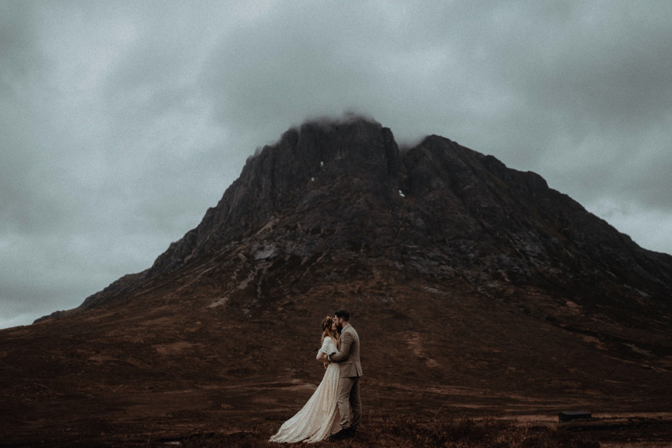 Elope to St Mary's in the Scottish Highlands. Belle Art Photography