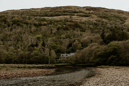 St Mary's, Appin, Oban, Scotland. Unfurl