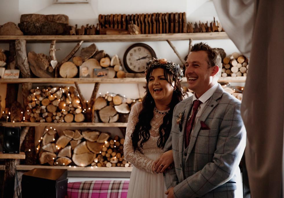 Katie & Richard's wee Scottish wedding - Eilidh Cameron Photography