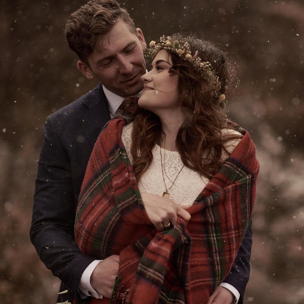 Bex & Tom's elopement. Photography Radoslaw Rachwal