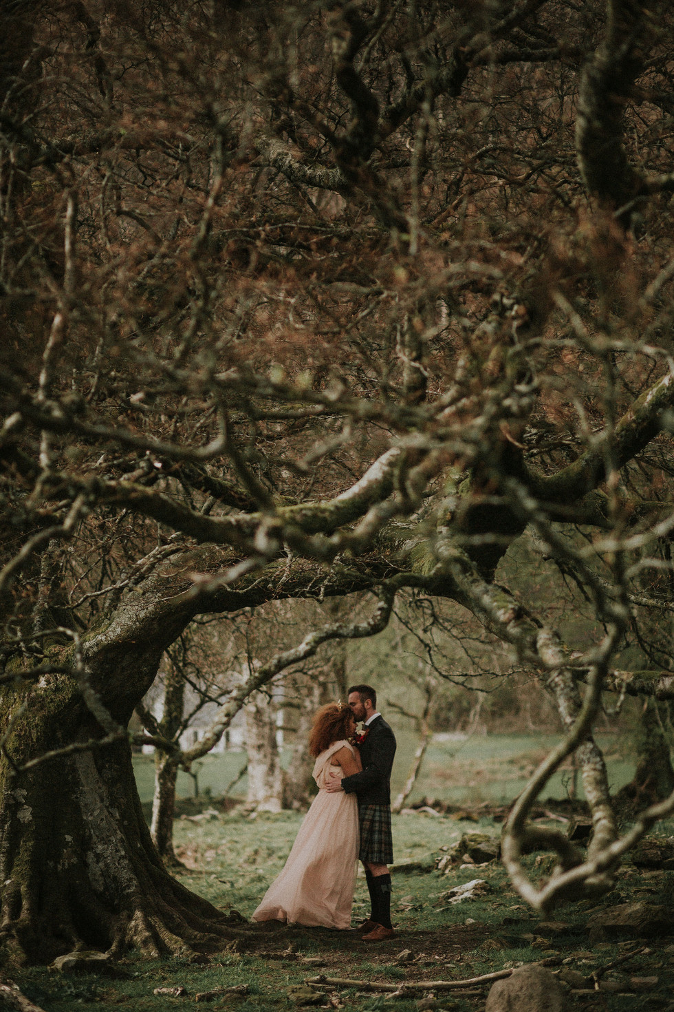 St Mary's Wedding Space elopement by Bernadeta Kupiec Photography