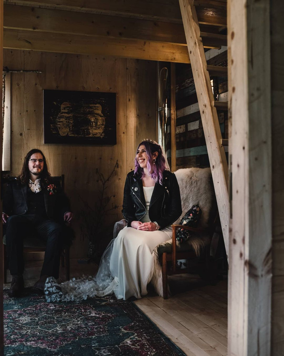 Jenny and Ryan's lockdown elopement. Jade Maguire Photography