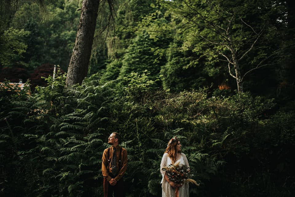 Tallulah and Matthew's boho wedding. From The Smiths Photography