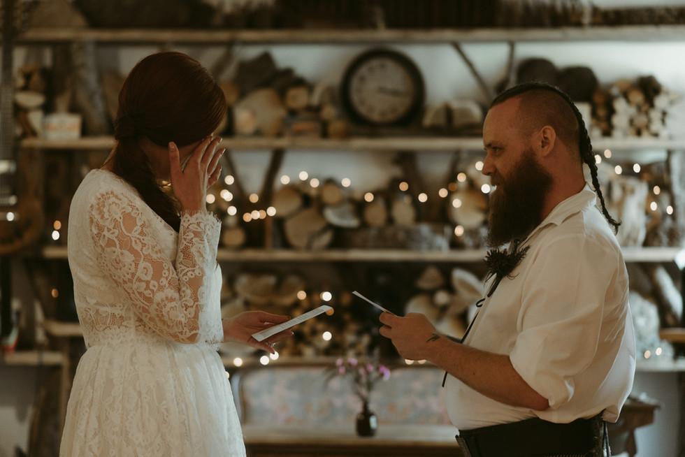 Nia & Keith's wee Scottish wedding. Evenart Stories Photography