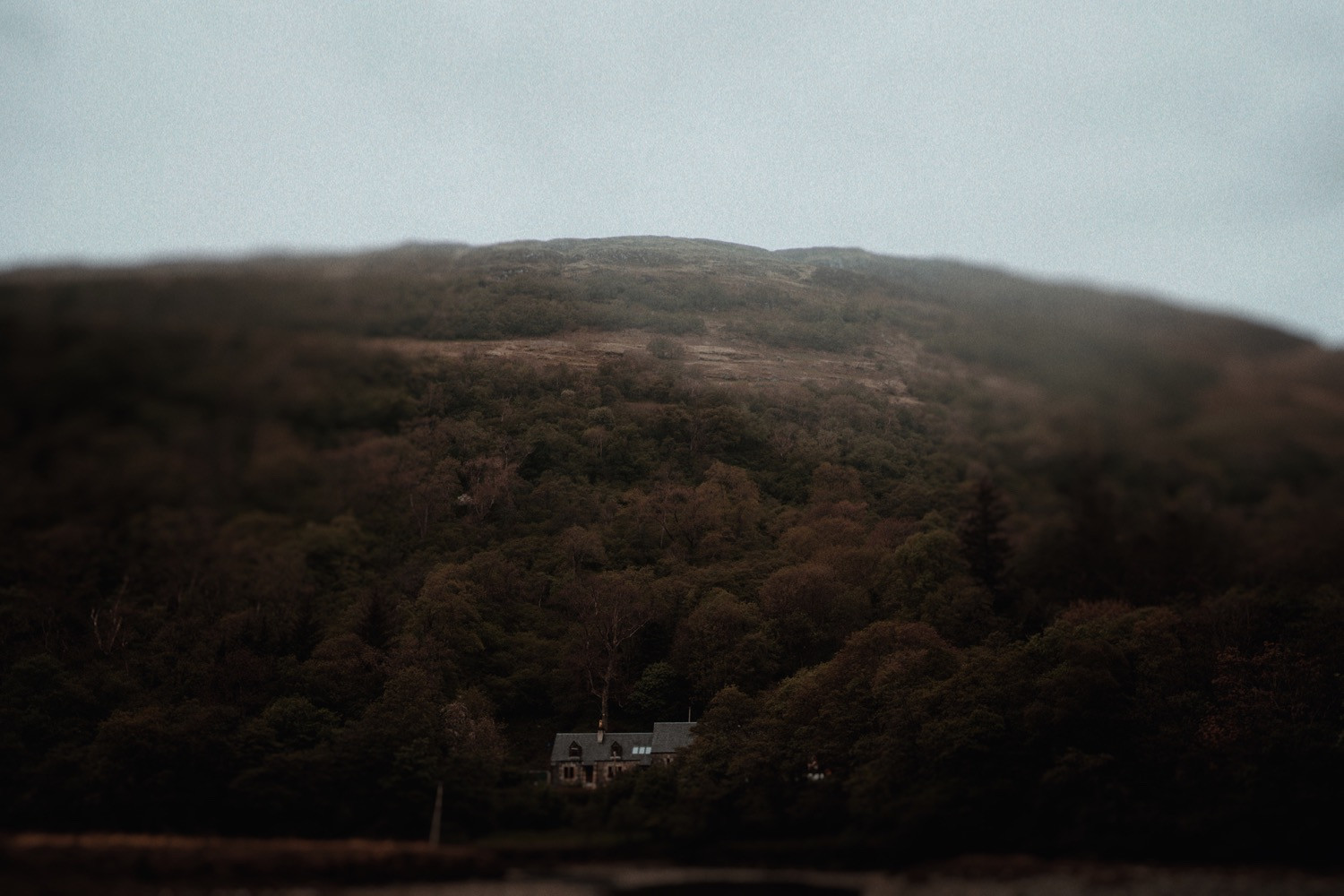 St Mary's intimate wedding venue in the Scottish Highlands. Belle Art Photography