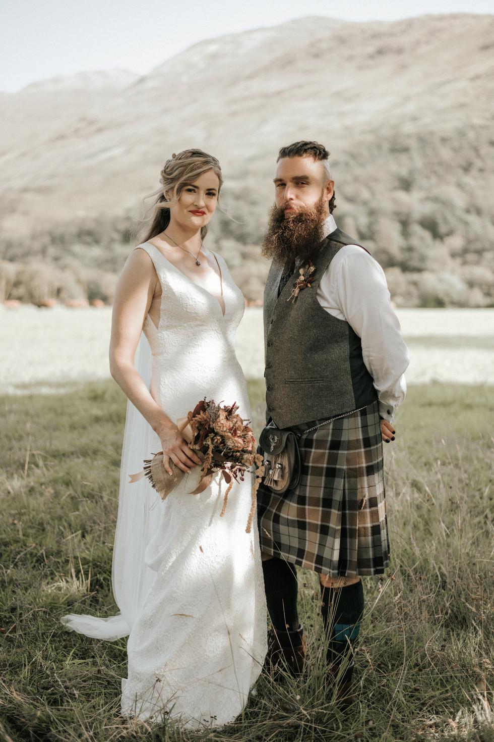 Erin & David's beautiful August elopement. Mihaela Bodlovic Photography