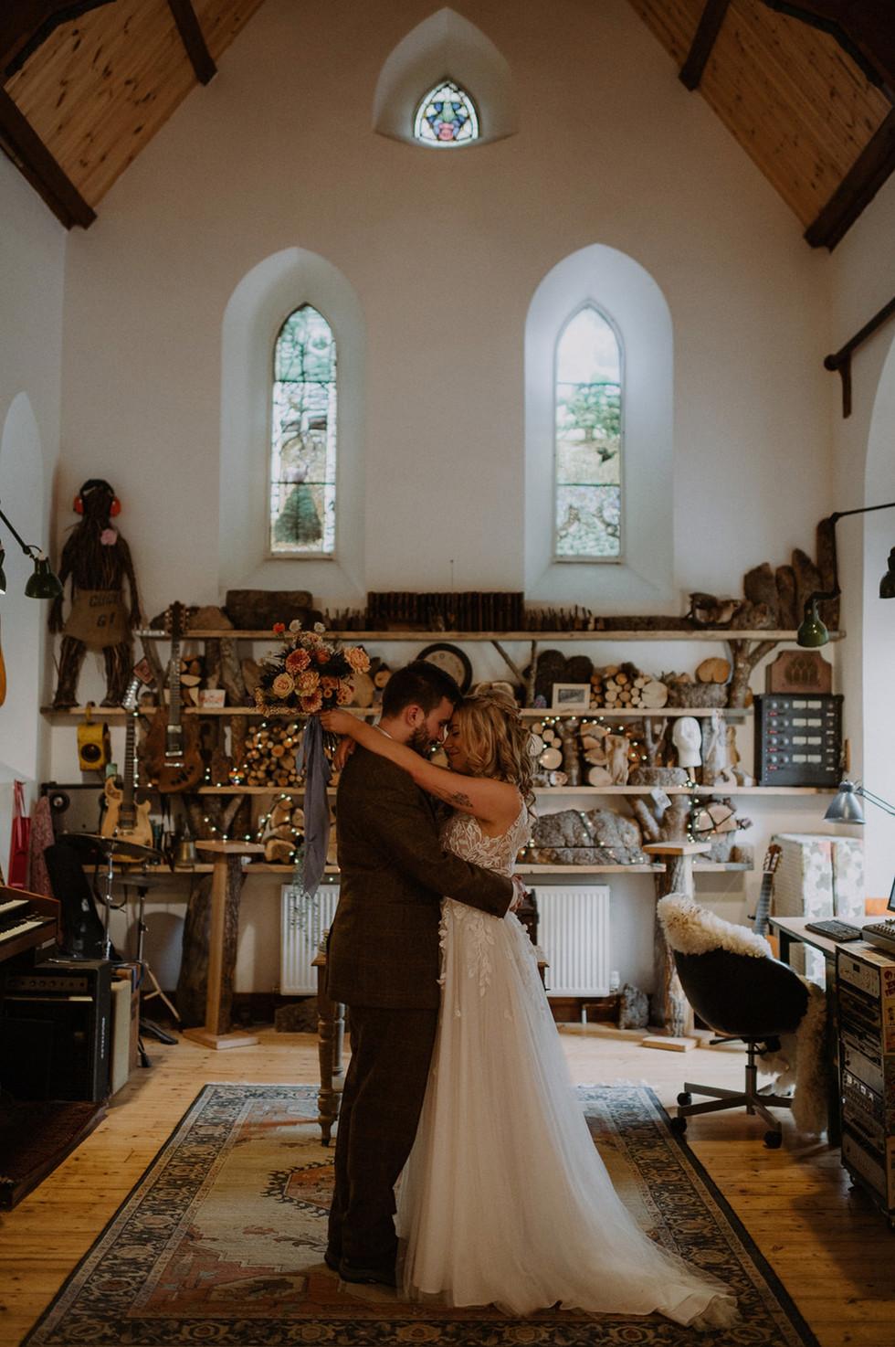 Bryony and Tom's wee Scottish wedding. Raini Rowell Photography