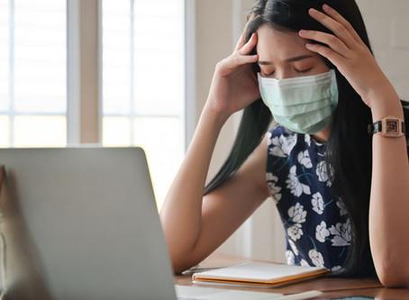 Stress, anxiété et déprime associés à la maladie à coronavirus COVID-19