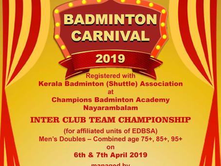 Badminton Carnival 2019