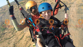 Paragliding, an adventure sport turned to an artful passion.