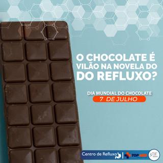 Chocolate: presente dos deuses para a maioria, mas pode ser um castigo para quem tem refluxo