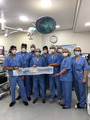 Realizada a primeira Fundoplicatura Endoscópica do Brasil e da América Latina
