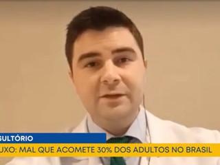 Refluxo atinge cerca de 30% dos adultos no Brasil