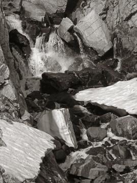 Rocky Ravine Abstract