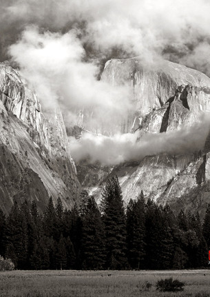 Half Dome in a Breaking Storm, Yosemite NP, edition of 60