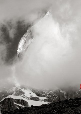 El Chalten in the Mist