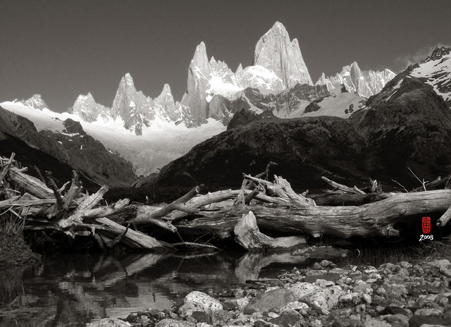 El chalten and Driftwood