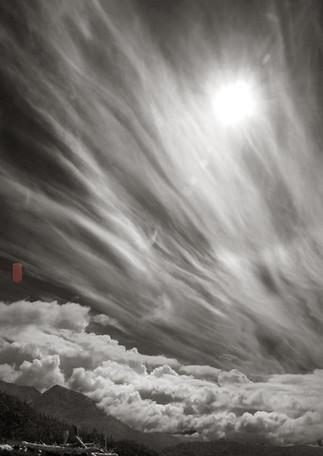 Clouds over Kachemak Bay