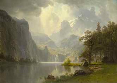 Albert Bierstadt, In the Mountains.jpg