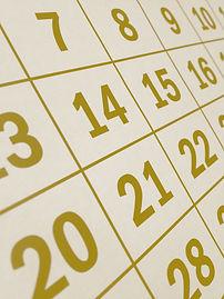correspondances de dates