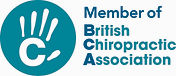 Seona our chiropractor is a member of the British Chiropractic Council