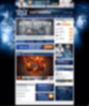 Dominic Hennig Hockey Website Designs