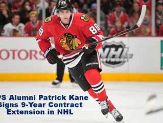 EPS Alumni Patrick Kane Signs 9-Year Contract Extension in NHL
