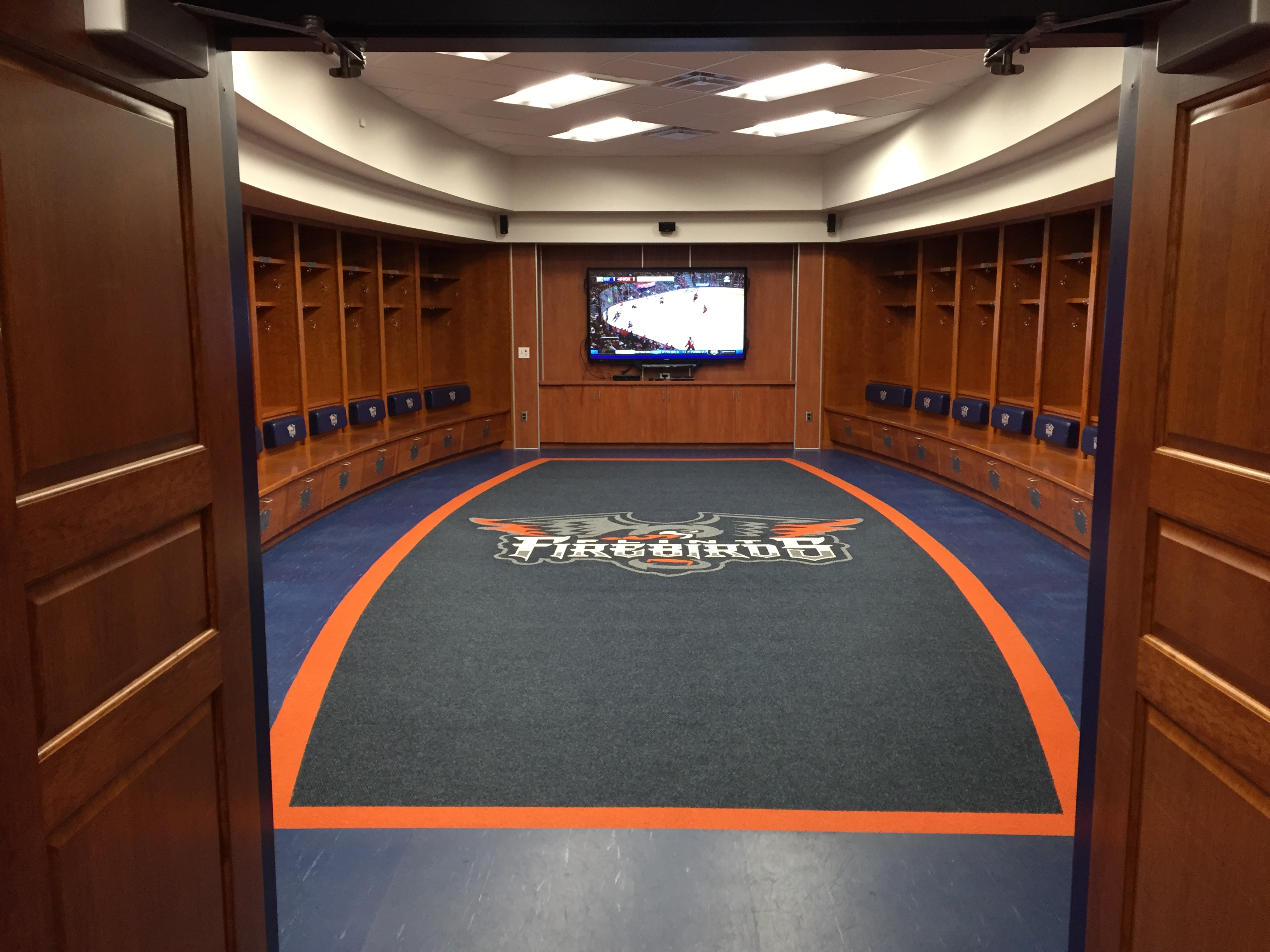 Designed Locker Room Audio & Video