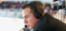 Dominic Hennig Hockey Play-by-Play Broadcaster Announcer