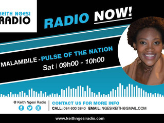 PRESS RELEASE: The POTN radio show with Mel Malambile goes Live!!! on KNR