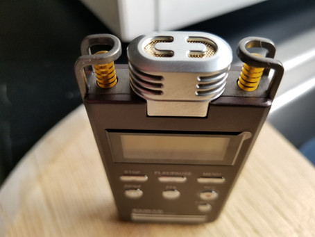 EVISTR L53 Digital Audio Recorder:  Battery Performance Testing