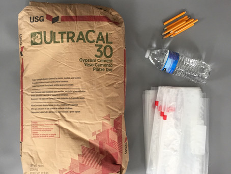 Preparing and Using Print Casting Kits