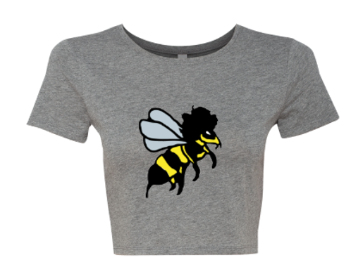 Beeliver Logo Crop Top