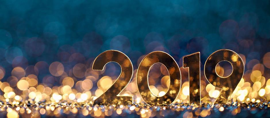Santéform vous souhaite une bonne et heureuse année 2019!