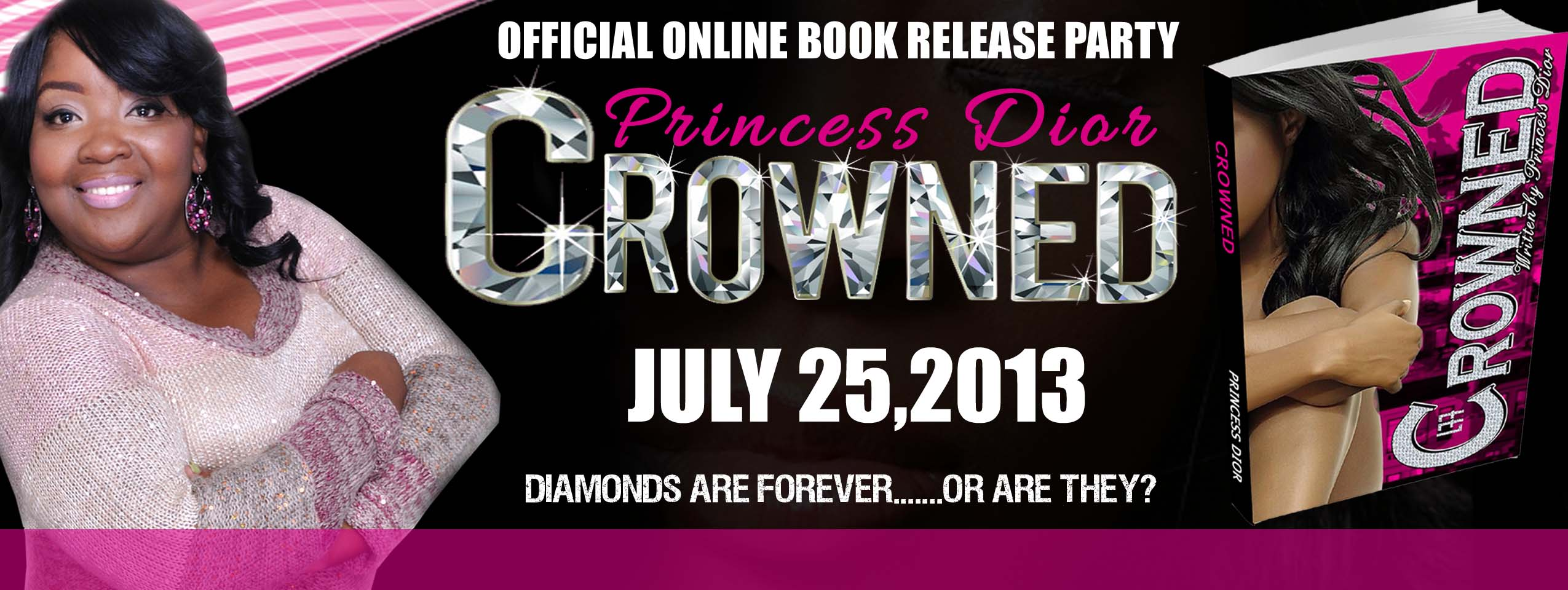 Crowned Online Book Release Party