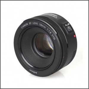 Lente Canon 50mm f/1.8