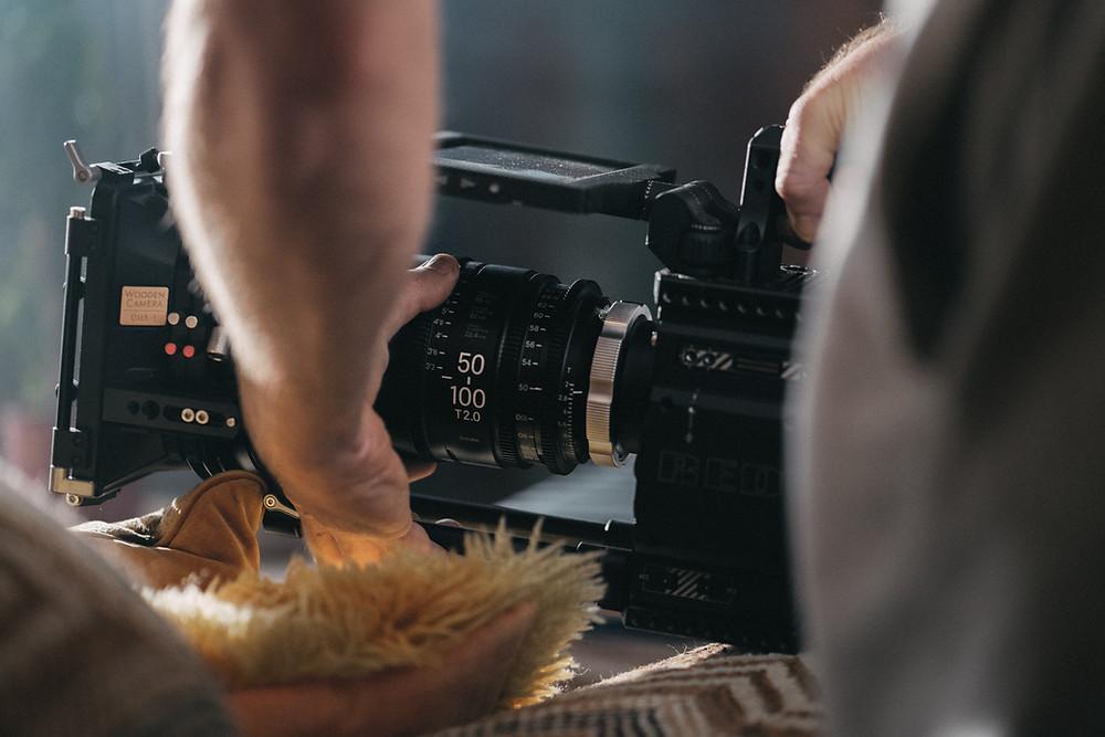 Resolução de câmeras para filmagem.