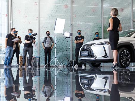 CarHouse Lexus esbanja sofisticação no novo comercial produzido em Porto Alegre - Recstory