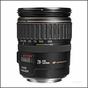 Lente Canon 28-135mm f/3.5-5.6