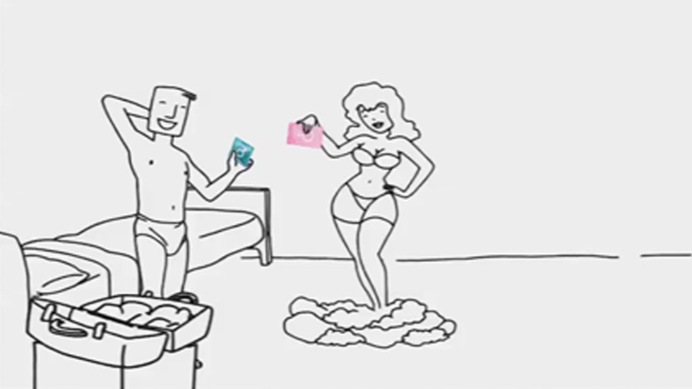 PROFISSIONAIS DO SEXO SEX WORKERS Publicidade Advertising